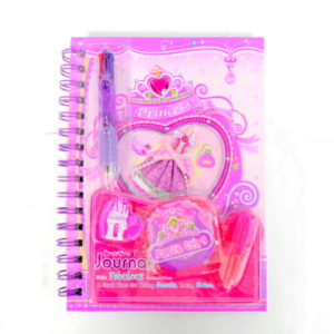 Pink And Purple Princess Diary-0
