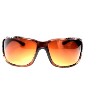Brown Pattern Design Sunglasses-0