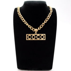 Gold COCO Necklace -0
