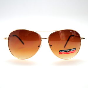 Bronze Pilot Sunglasses-0