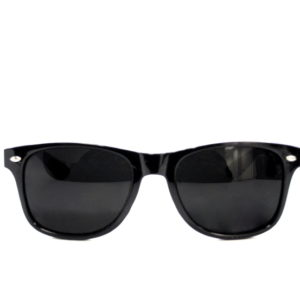 Black Ray Ban Sunglasses With Pattern Frame -0
