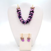 Necklace and Earrings Set-0