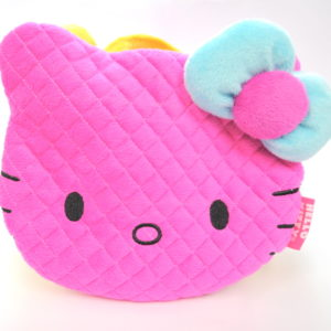 Hot Pink Hello Kitty Soft Quilted Bag-0