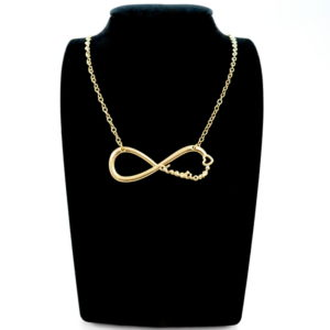 Gold Directioner Infinite Necklace-0