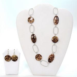 Leopard Necklace Set-0