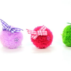 Fluffy Toy Rings With Bows-0