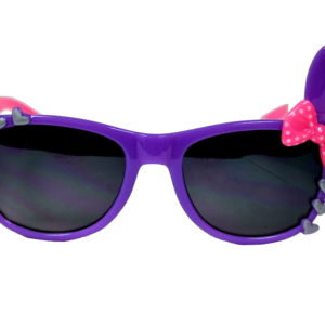 Girls Purple And Pink Bunny Ears Sunglasses-0