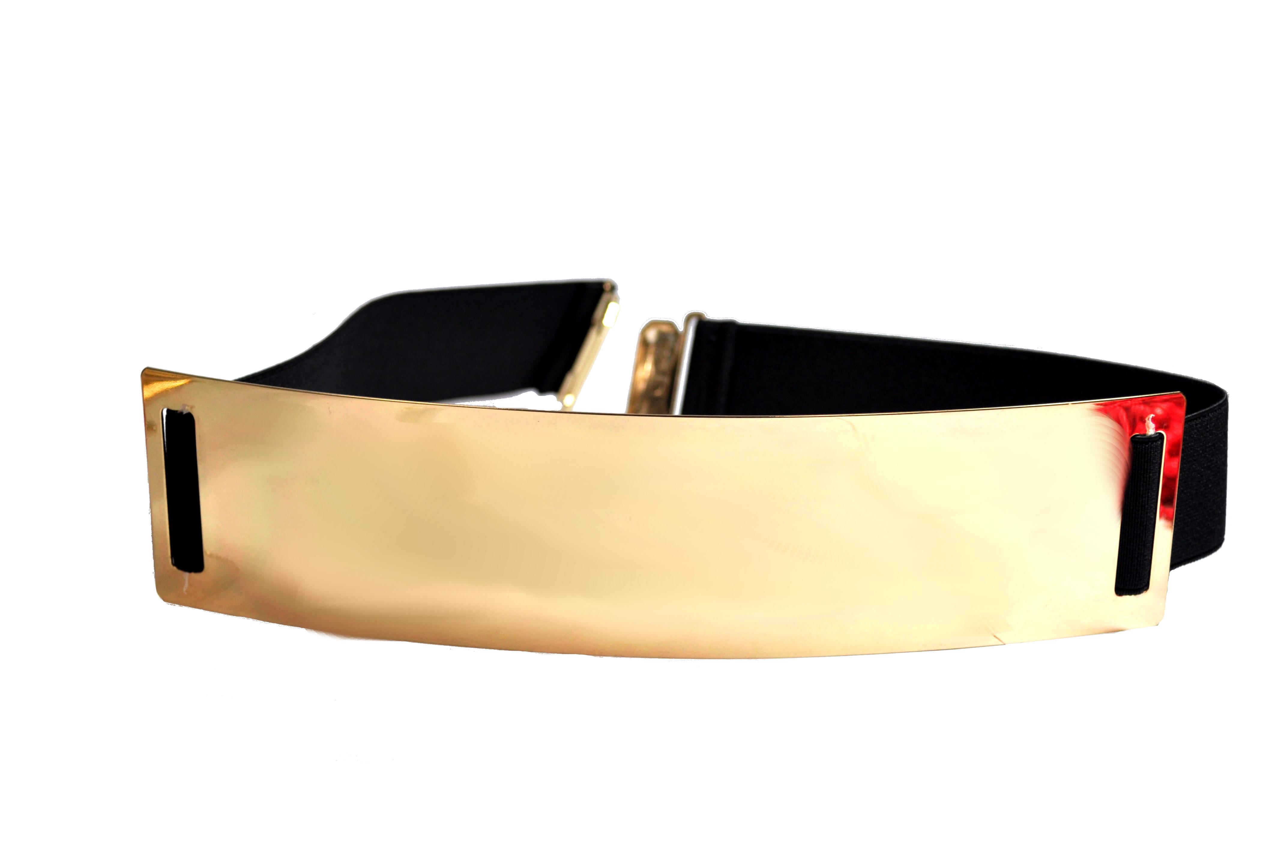 Gold And Black Cummerband Belt-0
