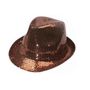 Champagne Fedora Hat-0